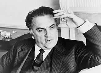 Film director - Federico Fellini was a popular director and screenwriter in the 20th century.