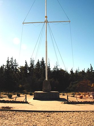 Niobe (schooner) - Monument near Gammendorf on Fehmarn