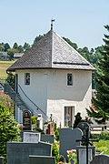 Feldkirchen Kirchgasse Friedhof ehem. Wehrturm Urnenhalle 06062019 7161.jpg