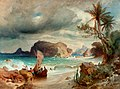Ferdinand Keller - Brasilianische Küstenlandschaft.jpg