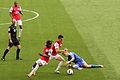 Fernando Torres, Laurent Koscielny & Gervinho (6954523436).jpg