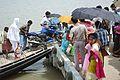 Ferry Service Across River Matla - Godkhali Ghat - South 24 Parganas 2016-07-10 5012.JPG