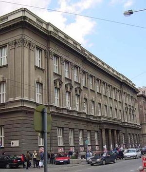 University of Belgrade Faculty of Philology - Image: Filoloski Trg
