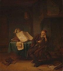 Philosopher in his Study