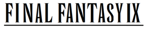 Immagine Final Fantasy IX wordmark.png.