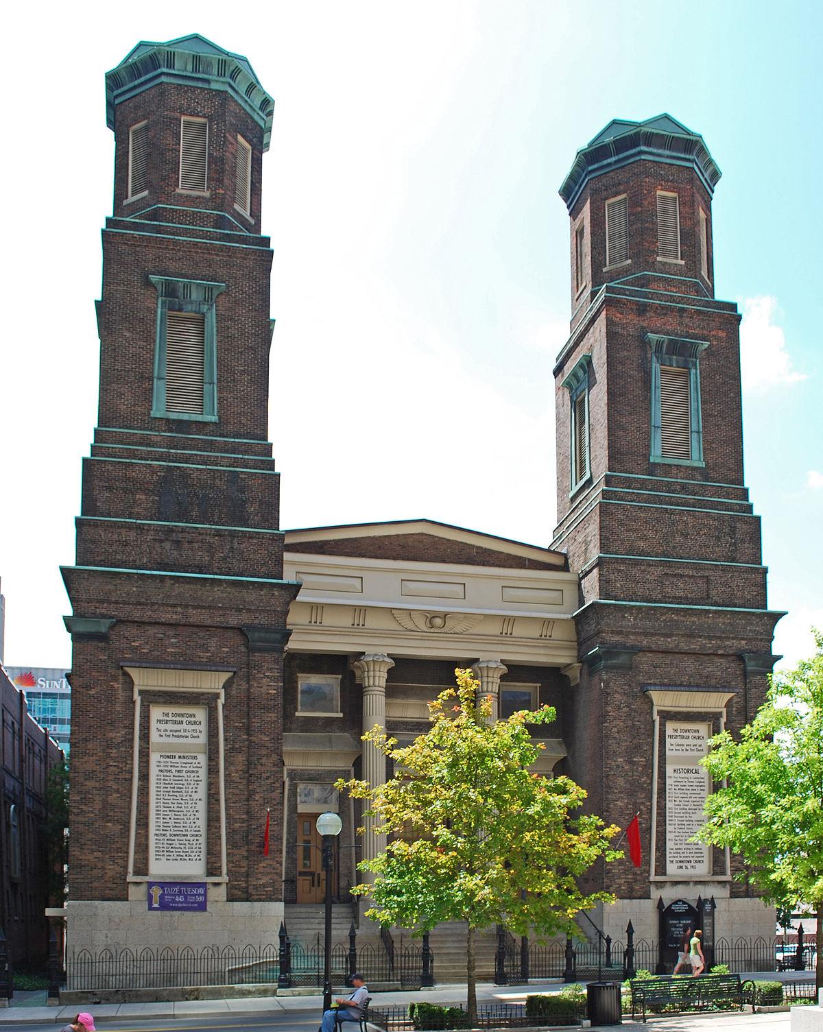 Downtown Presbyterian Church Nashville Wikipedia