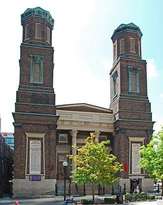 Downtown Presbyterian Church (Nashville) - Image: First Presbyterian Church Nashville