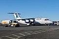 First Air - Summit Air Avro RJ85 at Yellowknife Airport.jpg