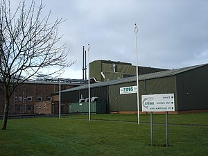 Fish meal - Fish meal factory, Westfield, West Lothian