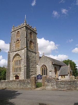 Fivehead - Image: Fivehead church