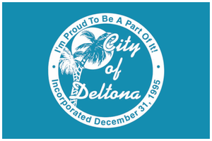 Deltona, Florida - Image: Flag of Deltona, Florida