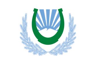 Nalchik - Image: Flag of Nalchik (Kabardino Balkaria)