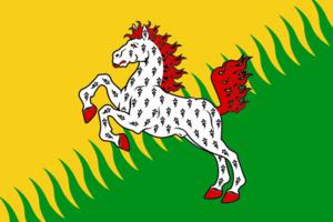 Sivinsky District - Image: Flag of Siva rayon (Perm krai)