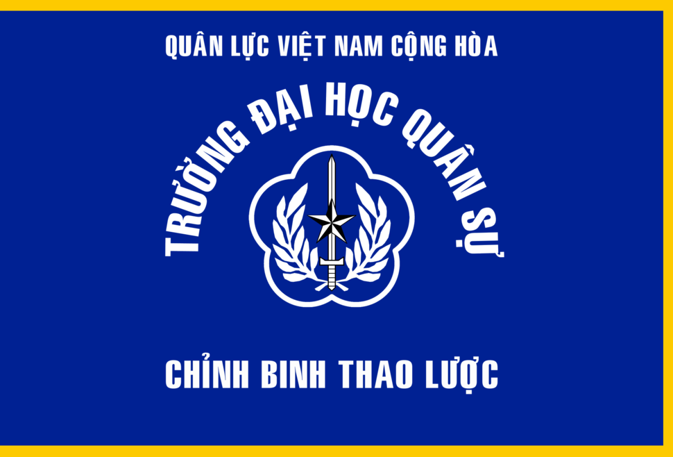 Flag of South Vietnamese Command and General Staff College