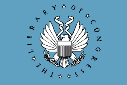 Flag of the United States Library of Congress.png
