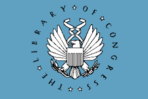 Librarian of Congress - Image: Flag of the United States Library of Congress