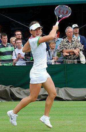 Simona Halep - At Wimbledon in 2011
