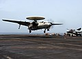 Flickr - Official U.S. Navy Imagery - An E-2C Hawkeye lands..jpg