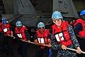 Flickr - Official U.S. Navy Imagery - Sailors heave a line during a replenishment at sea.jpg
