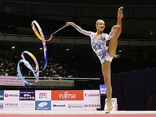 Melitina Staniouta Belarusian rhythmic gymnast
