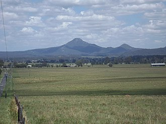 Cedar Grove, Queensland - Teviot Range from Cedar Grove, 2016