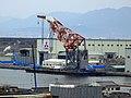 Floating crane Sankou in Hirosima port 03.jpg