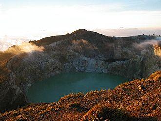 Complex volcano - Kelimutu, Flores, Indonesia