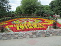Flowers clock in Ciechocinek.JPG