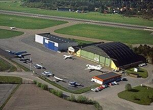 Bromma Air Maintenance - Image: Flygplats