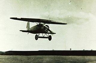 Fokker V.1 Small German sesquiplane experimental fighter