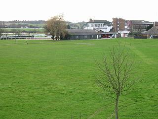 Westenhanger village in United Kingdom