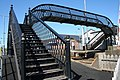 Footbridge at Castlerock station - geograph.org.uk - 1312317.jpg