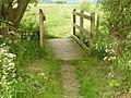 Footbridge by Fairham Brook Bunny - geograph.org.uk - 1335659.jpg