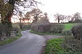 Footpath joins Hill Wootton Road - geograph.org.uk - 1594586.jpg