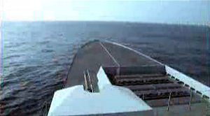 French frigate Forbin - Image: Forbin US Navy film 01