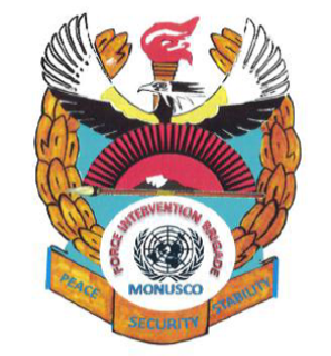 Brigade of soldiers that is part of the UN Mission to the DRC