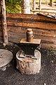 "Forge. Verkhniye Mandrogi, Podporozhsky district, Leningrad region. ""Old village"". The tour company Vodohod on the ship Konstantin Simonov IMG 8331.jpg"