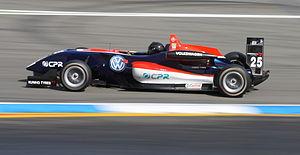Tiago Geronimi - Geronimi on the Formula Three Euroseries at the Hockenheimring (2009)