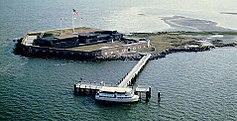 Luftaufnahme von Fort Sumter