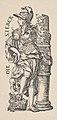 Fortitude (Die Sterck), from The Seven Virtues, in Holzschnitte alter Meister gedruckt von den Originalstöcken der Sammlung Derschau im besitz des Staatlichen Kupferstich-kabinetts zu Berlin MET DP834015.jpg