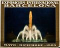 Fountain poster for International Exhibition, Barcelona, 1929 Wellcome V0050579.jpg
