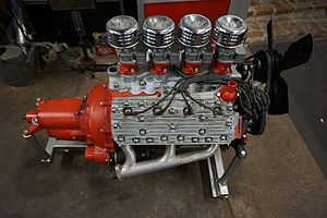 Ford flathead V8 engine - Another view