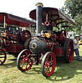 Fowler traction engine 'King of the Road' (15287372510).jpg