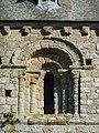 Fr Manche Saint-Loup Church Bell tower window detail.JPG