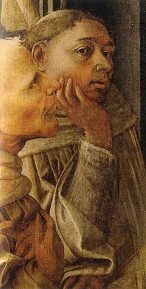 Filippo Lippi - Selfportrait of Fra' Filippo Lippi