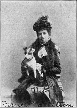 Frances Allitsen - Frances Allitsen at the time of her American tour
