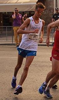 Francesco Fortunato Italian racewalker