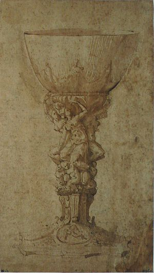Francesco de' Rossi - Chalice, 1530s (Louvre Museum)