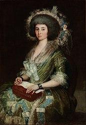 Francisco Goya: Portrait of Senora Ceán Bermudez