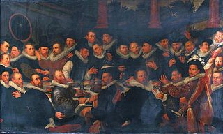 Banquet of the St. Joris civic guard in 1600